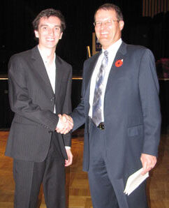 2011 Hugh White Scholarship recipient Matt Boyd